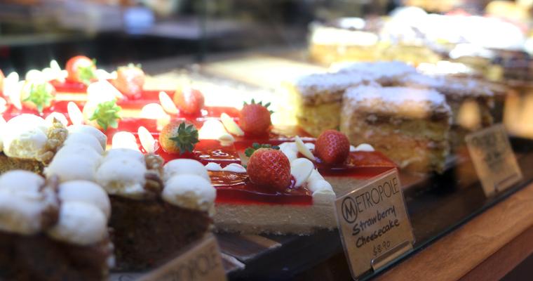QVB内のカフェ METROPOLE CAFE(メトロポール・カフェ)| TOWN HALL(タウン・ホール)