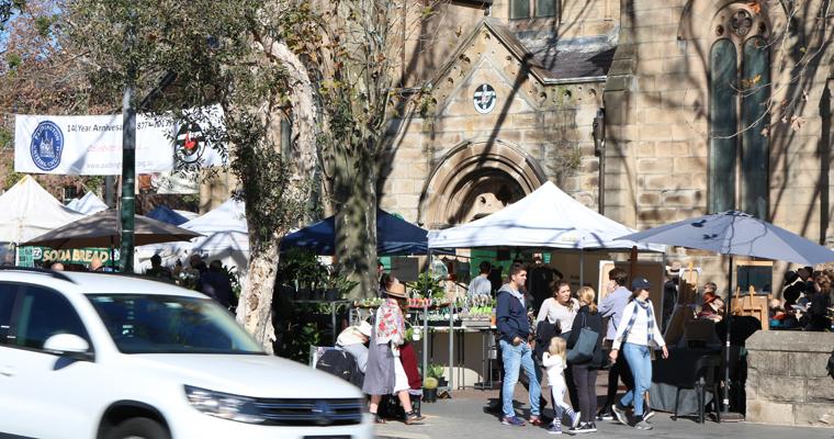 シドニー1番人気のマーケット PADDINGTON MARKETS(パディントン・マーケット) | PADDINGTON(パディントン)
