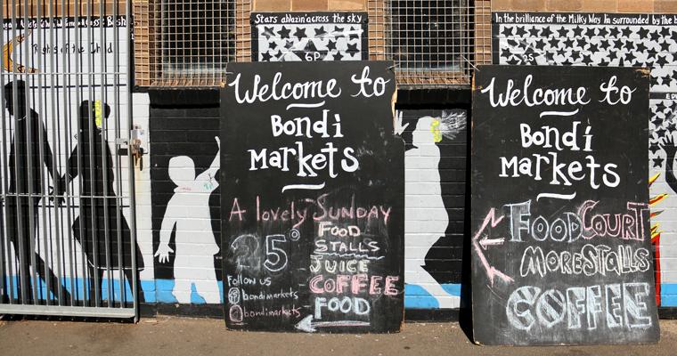 ビーチサイドのマーケット BONDI MARKET(ボンダイ・マーケット) | BONDI BEACH(ボンダイ・ビーチ)