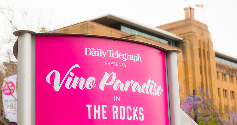 オーストラリアのワインの祭典 VINO PARADISO(ヴィノ・パラディーソ) | THE ROCKS(ロックス)