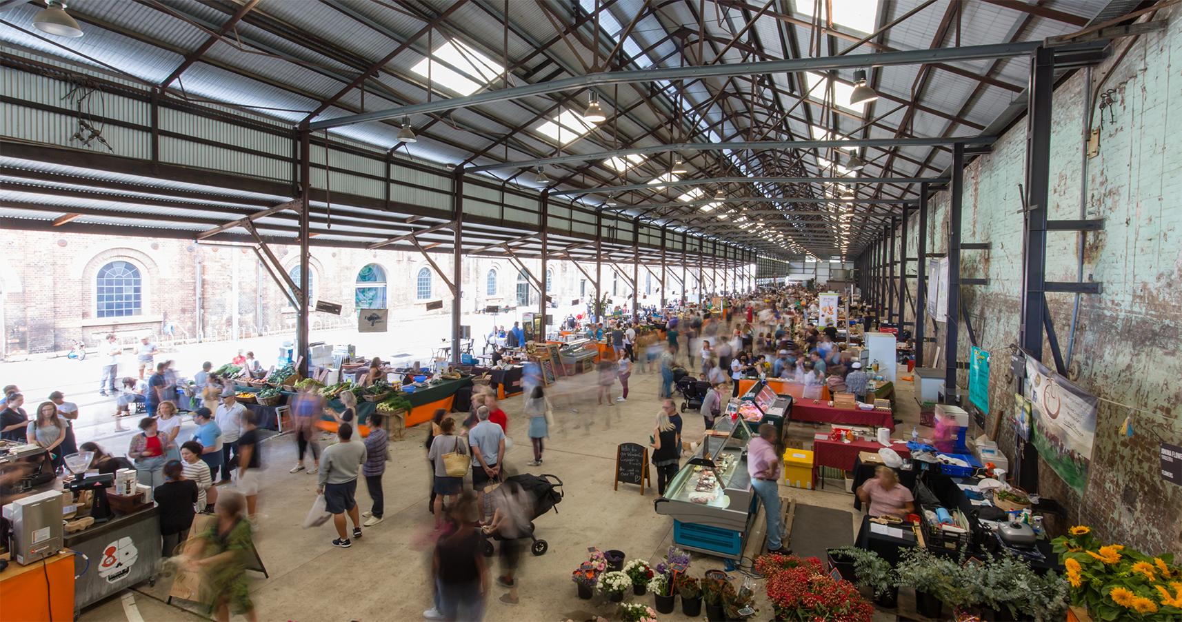 シドニーのフォトジェニックなCARRIAGEWORKS FARMERS MARKET(キャリッジワークス・ファーマーズ・マーケット) | REDFERN(レッドファーン)