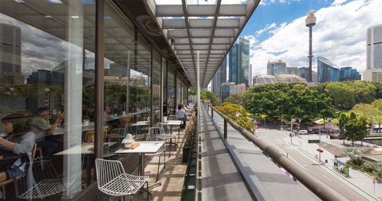 超穴場の絶景カフェ No.1 WILLIAM(No.1 ウィリアム)| AUSTRALIAN MUSEUM(オーストラリア博物館)