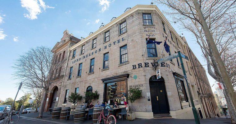オーストラリア最古のパブ THE LORD NELSON BREWERY(ロード・ネルソン・ブリュワリー) | WALSH BAY