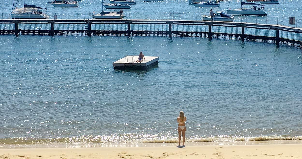 シティに近い穴場ビーチ MURRAY ROSE POOL(マレー・ローズ・プール)| DOUBLE BAY(ダブルベイ)